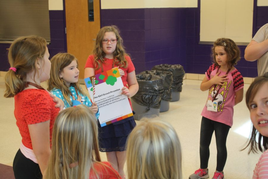 Making a Girl Scout Troop