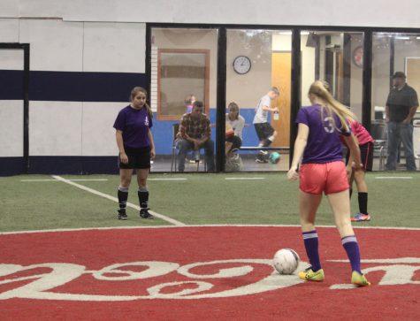 Girls' Indoor Soccer Runs Through the Season