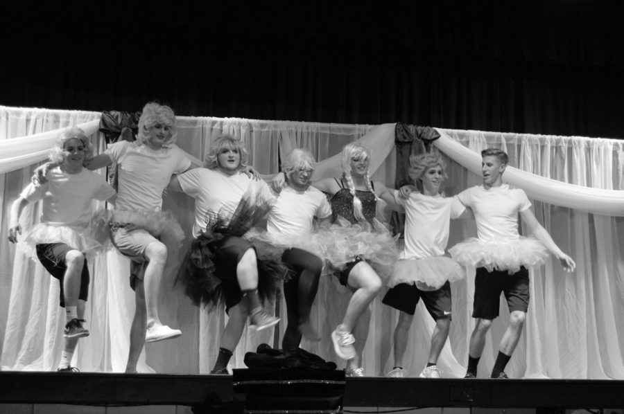 Senior Boys Wow Crowd with Poise and Beauty