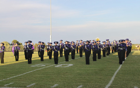 Marching Band Tunes Into a New Year