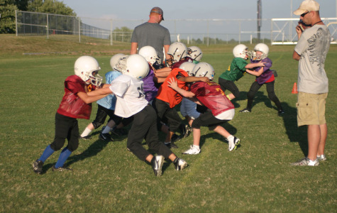 Eagles Football Takes Flight in the Elementary and Middle School