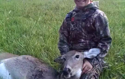 4th Grader Gets First Bow Kill