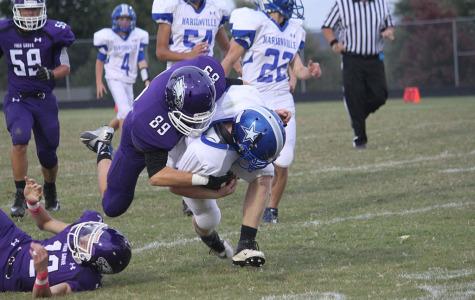 Junior Varsity Football Ends Season with Win