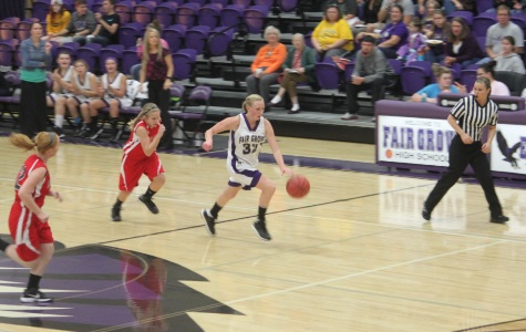Middle School Girls B-Ball Shoots Into Action