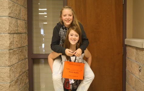 Student Council Auctions Off Buddies