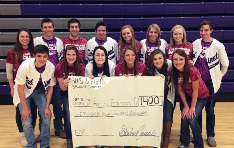 Fair Grove and Strafford Student Councils Work Together to Raise Money for Springfield Officer