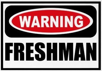 Advice to Incoming Freshmen