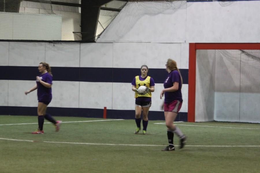 Fair Grove Girls Soccer Team Working Hard