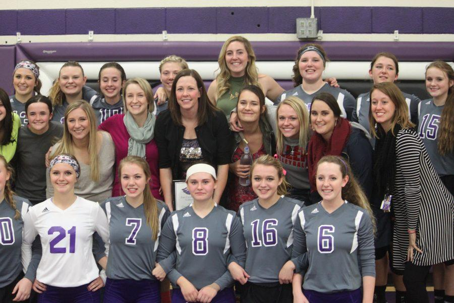 Head Volleyball Coach, Tonya Peck Gets Win Number 400