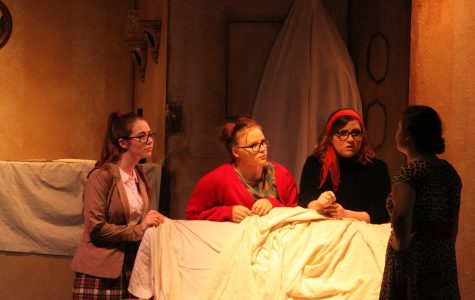 High School Students Put on Production of Fall Play
