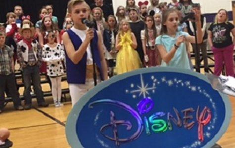 Fourth Grade Students Put on Disney Program