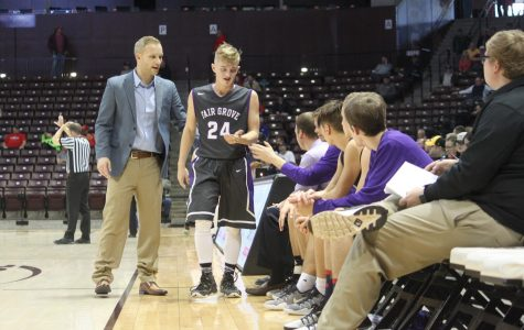 Coach Tim Brown Named to Men's Filbert Five