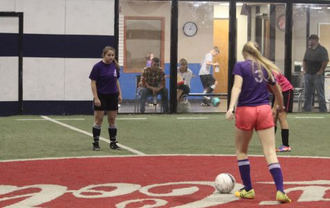 Girls' Indoor Soccer Runs Through the Season
