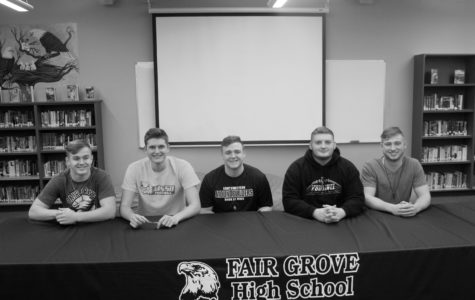 Fair Grove Seniors Further Athletic Careers