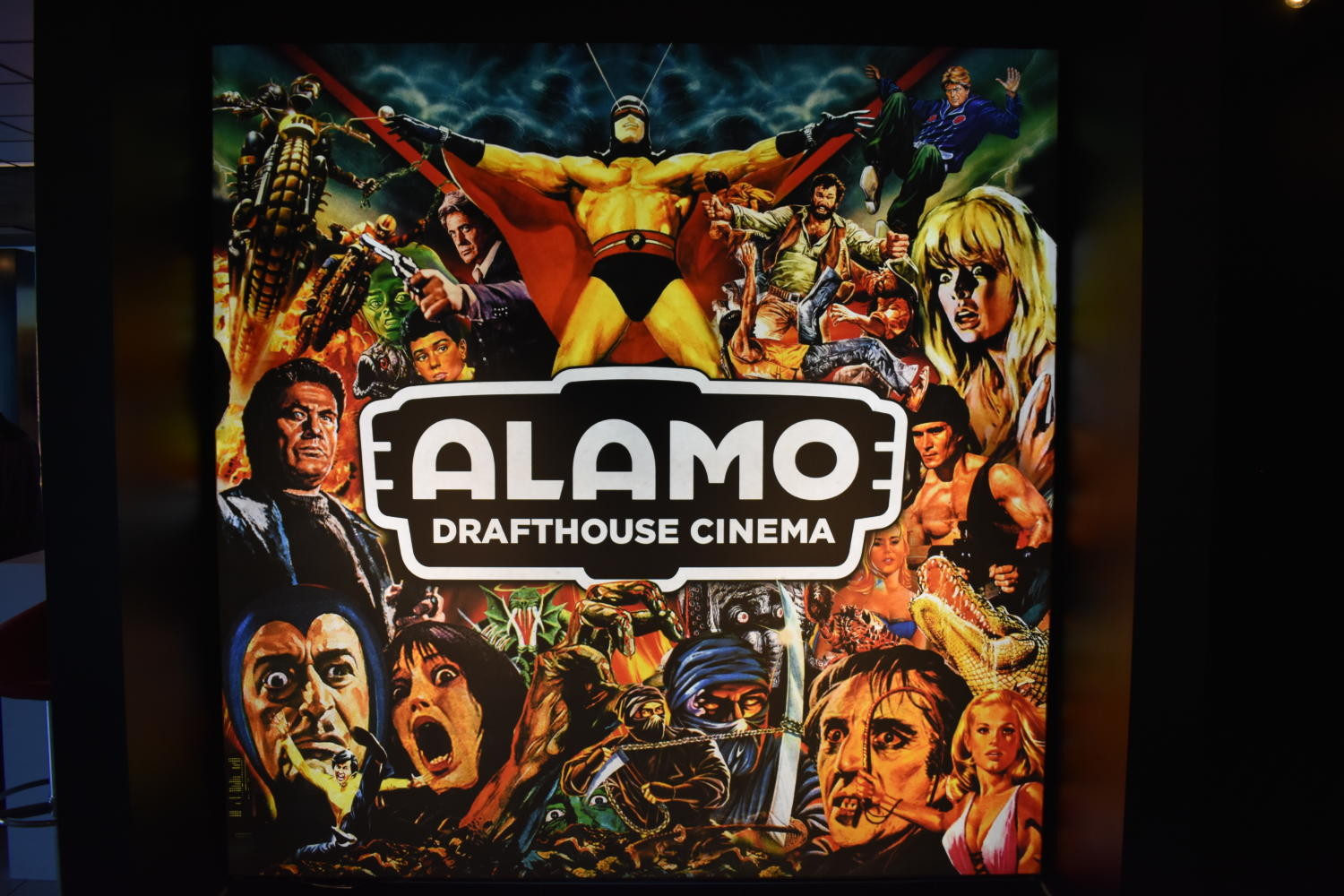 Poster for the Alamo Drafthouse