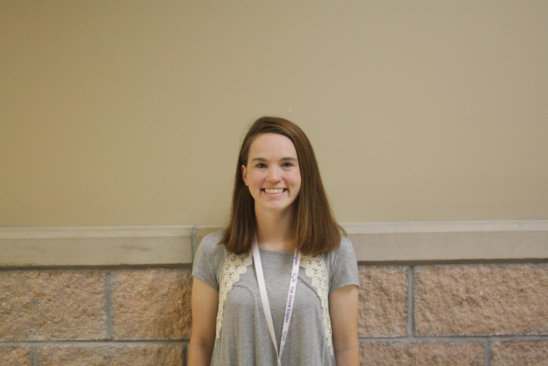 New math teacher Samantha Orr