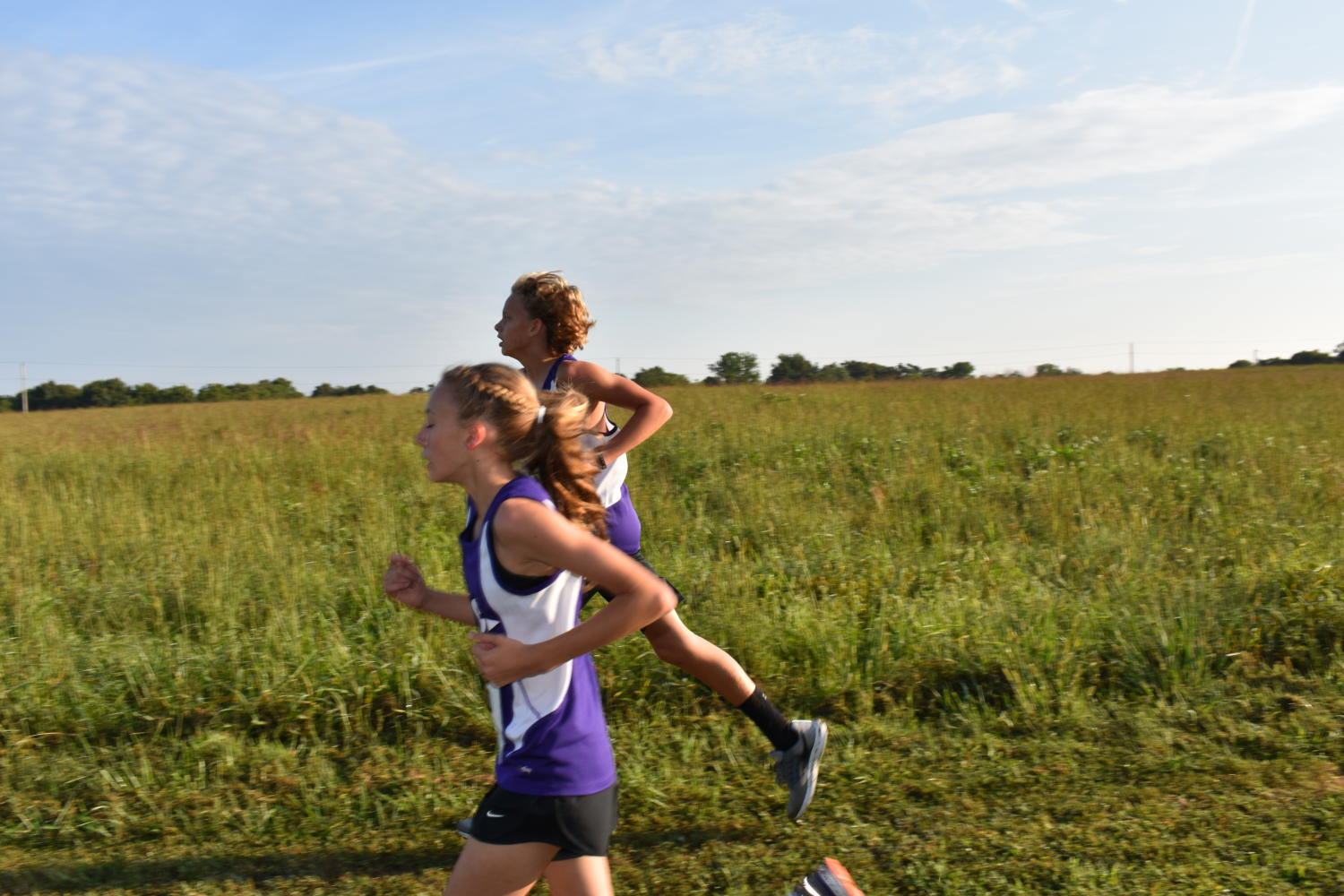 Middle+school+cross+country+competes+at+Fellows+Lake