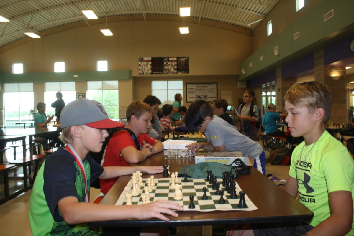 Fair Grove Chess Club Members Locked in a Battle of Wits