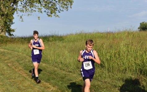 Cross Country Sprints To The Finish Of Their 2017-2018 Season
