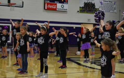 Young Cheerleaders Prepare for Future
