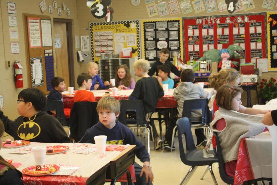 The Fair Grove Elementary enjoys their parties