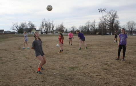 Fair Grove Soccer practices for the season.