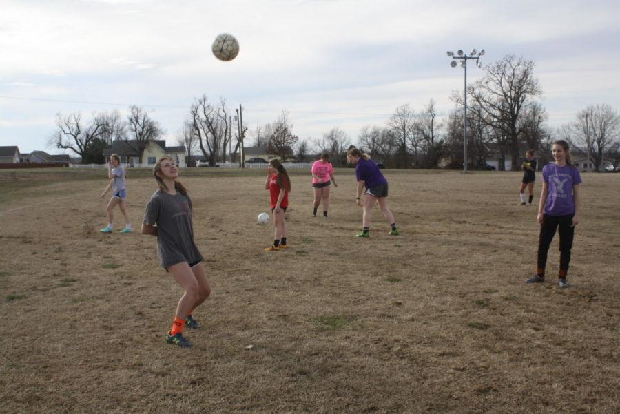 Fair Grove Soccer practices for the season.