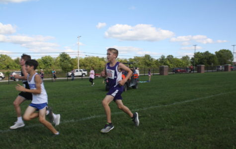 Middle School Cross Country Running into the Season