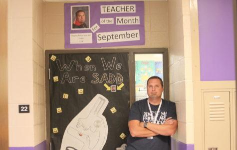 September Teacher of the Month