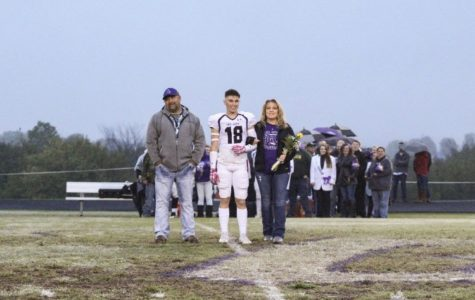 Football Senior Cayden Stacey