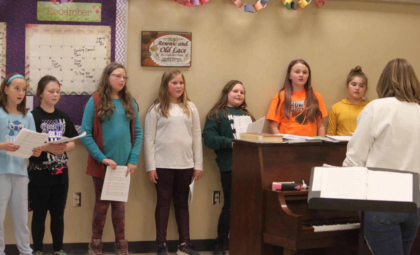 Middle School students participate in MS Honor Choir