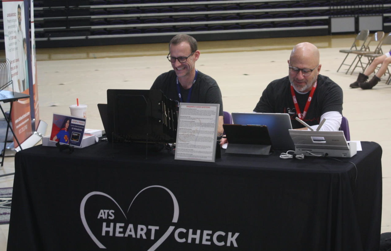 ATS Heart Screening workers