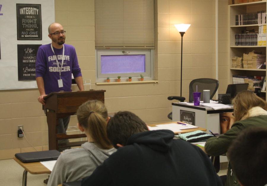 December Teacher of the Month: Mr. Florez