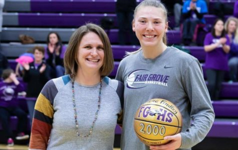 Findley Finds her 2000th Point