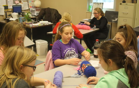 Hooked on Fair Grove Middle School's Crochet Club