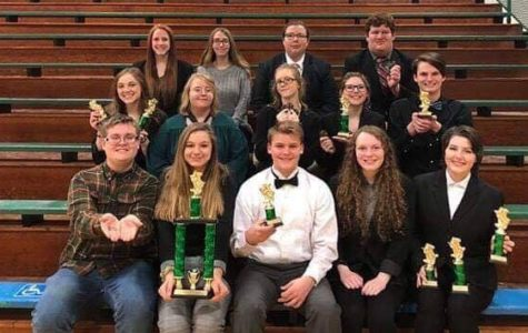 FGHS Speech Team Takes a Bow