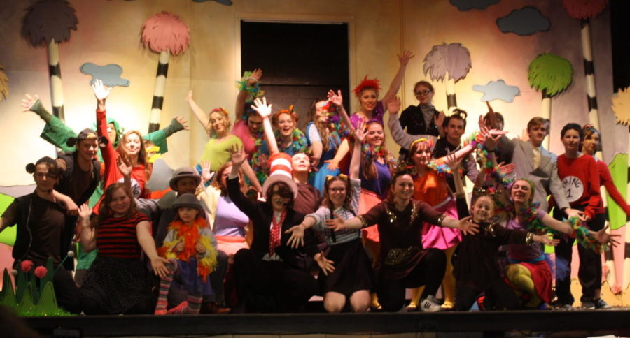 The cast ends the show with an upbeat performance.