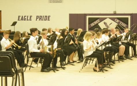 Middle School Band Concert Ends in a Victory