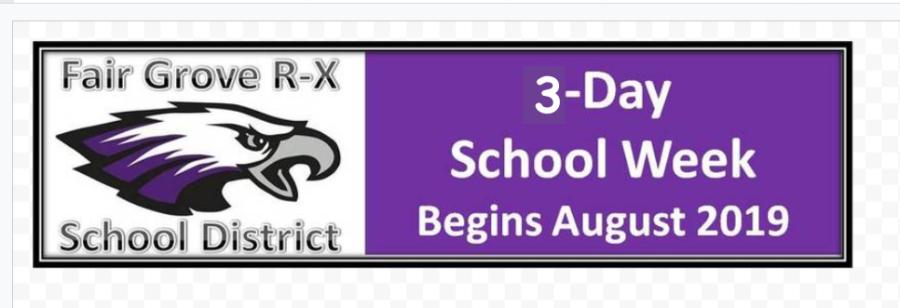 Three Day School Week Proposed