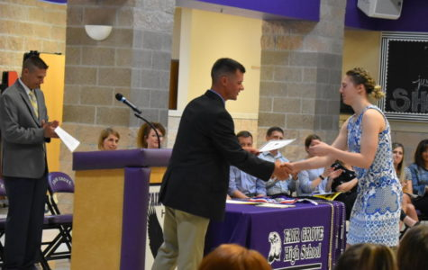 High School Awards Night Ends Year On a High Note