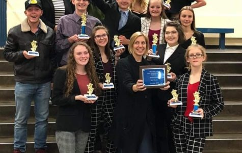 Speech and Debate to 2nd Place