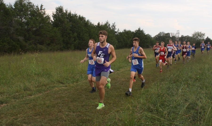 Runner, Alex Ince competing in a prior meet