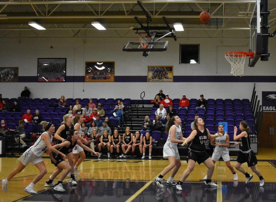 Girls Basketball on January 7th against El Dorado Springs