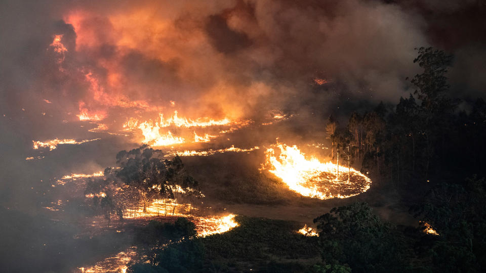 Fires around Australia causing mass destruction