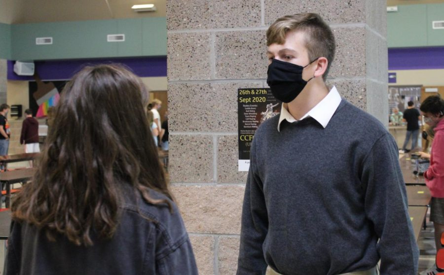 Wearing Masks in the New School Year