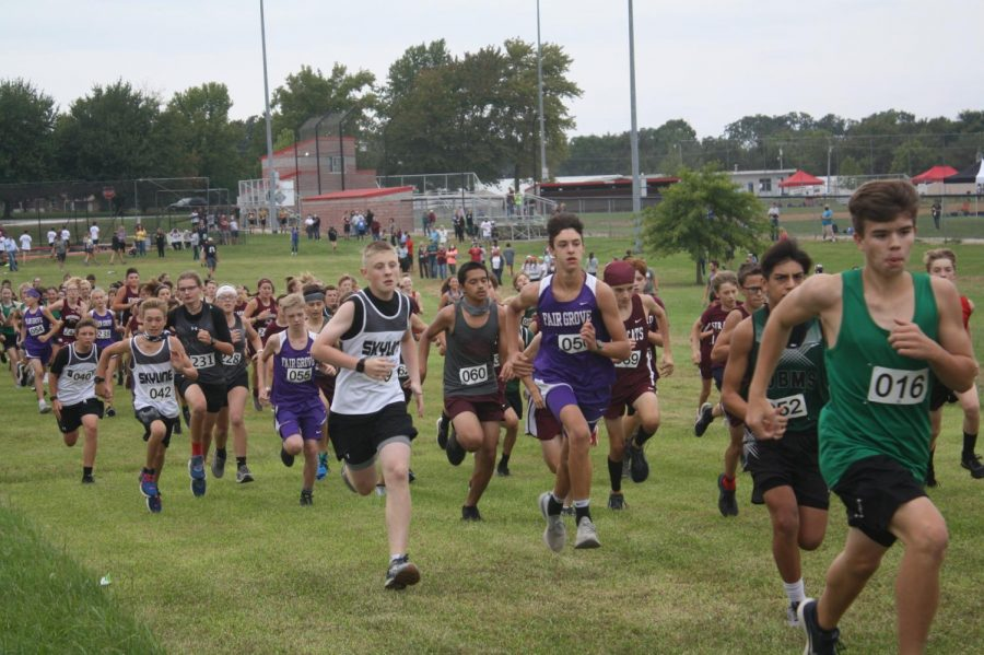 Cross Country meet from September 22nd at Stockton.
