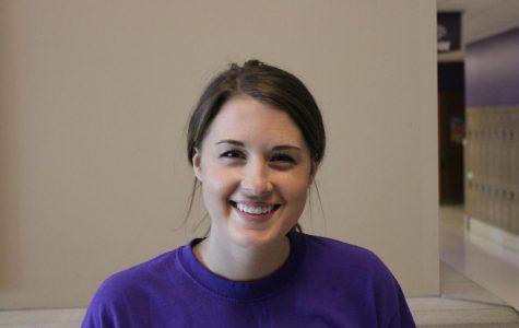 Katie Fender, new sixth grade teacher.