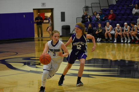 Girls Middle School Basketball Begins