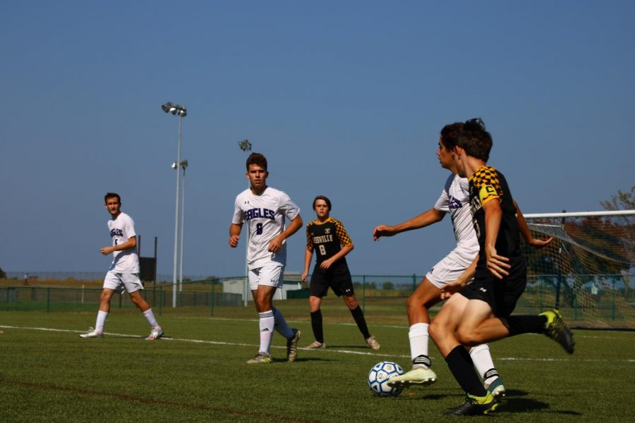FGHS Boys' previous soccer game vs. Dixon
