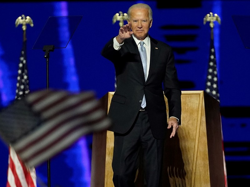 President-elect+Biden+on+November+7th+after+being+pronounced+winner+of+the+election.+Credit%3A+Andrew+Harnik%2FGetty